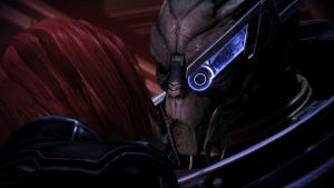 Shepard and Garrus reunion by LadyNaginiWesker