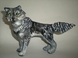 Spirit of the Hunt-small wolf sculpt by Shadowind