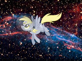Space Derpy by Kittyhawkman