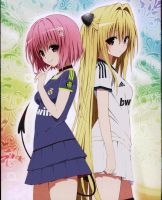 Momo and Yammi Real Madrid Ver. by Luistou