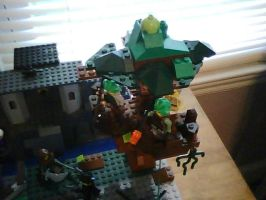Temple: Part VI: Tree Fort by tlrlscl