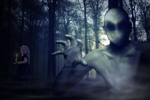 Slender Man by andralienne