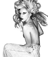 Lady gaga born this way png by javithoxs123