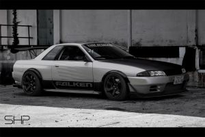 Nissan Skyline R32 Time Attack by shappass