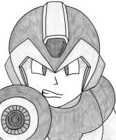 Mega Man X by xXHollowEnigmaXx