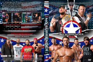 TNA No Surrender 2013 DVD Cover by Chirantha
