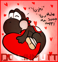Yoshi Valentines Day by TheDovahKing