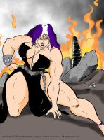 Lady Kalian03 color by wyattx