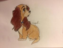 Lady and the tramp doodle  by Boggin