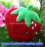 Strawberry plushie by The-Cute-Storm
