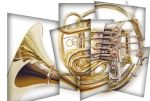 french horn by danielberti