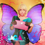 Gaga Butterfly by itsrockersdesigns