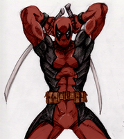 Alas, It's Deadpool - Colour by Cypher7523