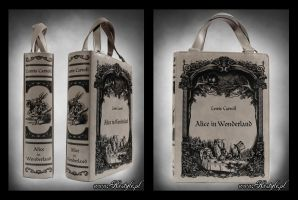 Alice in Wonderland book bag by Euflonica