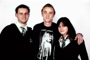 Slytherins with Tom Felton by Rayne555