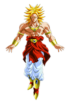 Broly Super Saiyan by OriginalSuperSaiyan