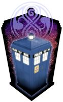 TARDIS by GreatScottArt