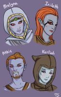 Skyrim: Dunmer Appreciation by LuciferianRising