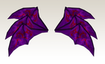 MMD Triple bat wings by amiamy111