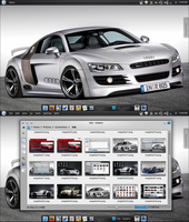 Audi 3 kde color scheme by Draco23hack