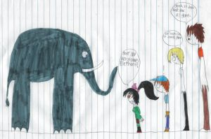 Vanellope gets an elephant by longshot09