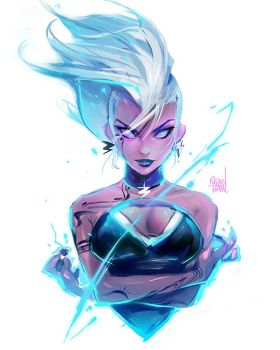 Storm Sketch by rossdraws