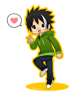 Chibi Sanzo ! by ChibiStarProductions