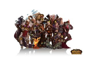 wow fan art page 5 final by Angju