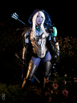 Drow Ranger, Dota 2 by littlekiddens