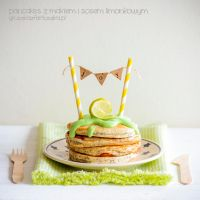 poppy seed pancakes with lime sauce by Pokakulka