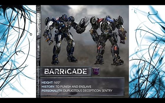 TRANSFORMERS the last Knight BARRICADE by Robotponytron