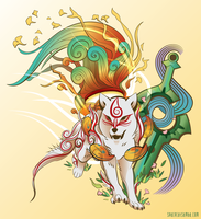 Amaterasu by SpaceKitty
