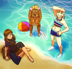 Obligatory Beach Episode by captainsparx