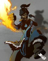 The Legend Of Korra by CLE2