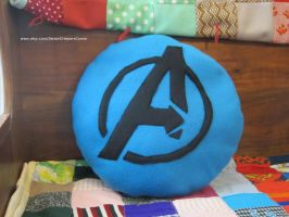 The Avengers Inspired Pillow by colbyjackchz