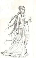 The High Priestess by articlights