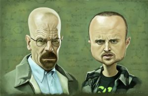 Breaking Bad by markdraws