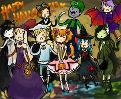 .:Trick or treat with my bros:. by Ask-Fay-the-Dreamer
