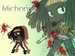 Michonne Wallpaper by neoanimegirl