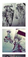 Recent Sketchs by Jun-OH
