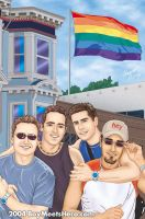 Boys at Castro by Boy-Meets-Hero