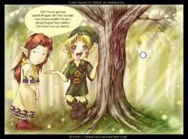 Link Talks to Trees by Annachuu