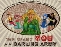 Darling Army Contest Entry: Poster (variant 1) by illuminantur