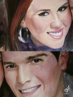 Arely y Juancho -details- by DHTenshi