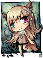 Concept Chibi: Bry by SummerFrost