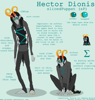 Sheet: Hector Dionis by Zelendur
