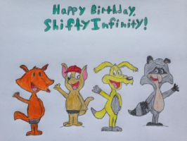 Happy Birthday, ShiftyInfinity!!! by nintendolover2010