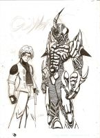 Guyver Art by anarchyguyver2004