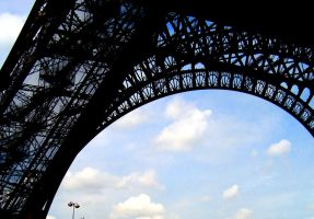 Eiffel Tower Detail by BillReinhold