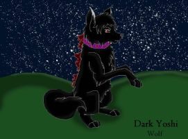 .:DarkYoshi Wolf:. by Lurker89